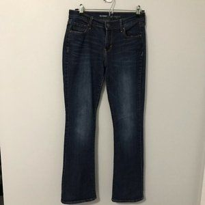 Old Navy Curvy Mid-rise Dark Wash Jeans size 6P
